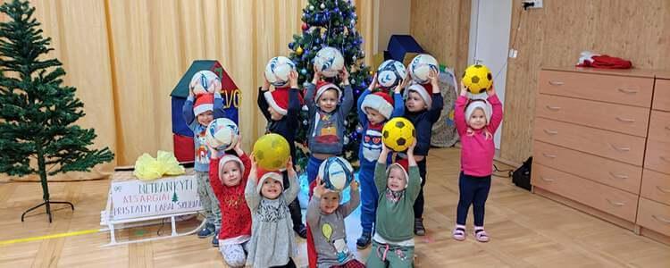 Kalėdinis futboliukas