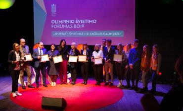 """""""Olimpinės kartos"""" laureatai"""