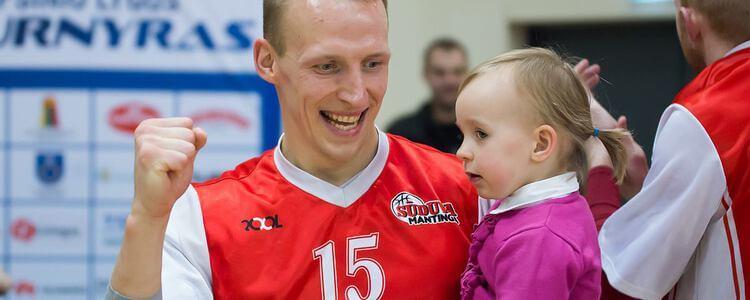 """Krepšininkas Gintautas Matulis: """"Vaikus įkvepia pavyzdys"""""""