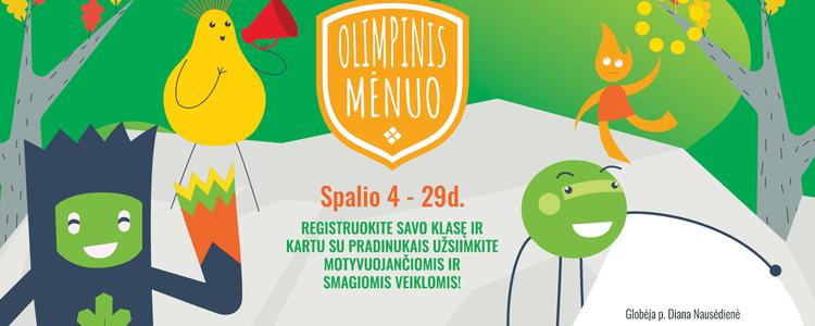 Registracija į Olimpinio mėnesio projektą