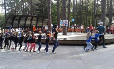 Draugiško sporto diena K.Dineikos sveikatingumo parke