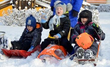 Žiemiškos linksmybės