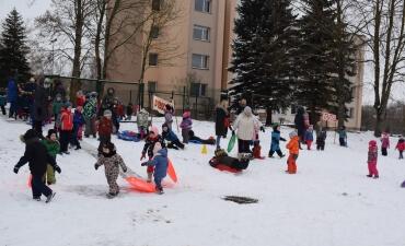 """Sporto renginys """"Ledo ir sniego šalyje"""""""