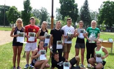 Gimnazijoje vyko Olimpinė diena