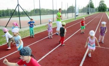 """Ekskursija į Kupiškio rajono KKSC """"Bėgimo takeliu"""""""