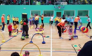 Mažųjų sporto šventė Jurbarke