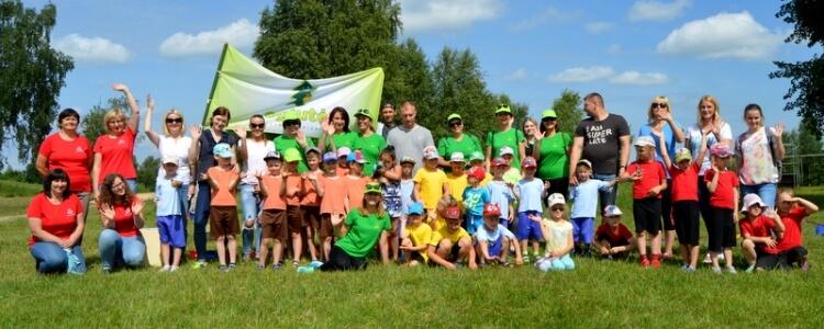 """Sportinė pramoga """"Turizmo diena su šeima"""""""