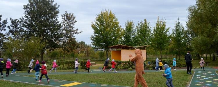 """Saugios ir sveikos lauko aplinkos tobulinimas lopšelyje-darželyje """"Eglutė"""""""